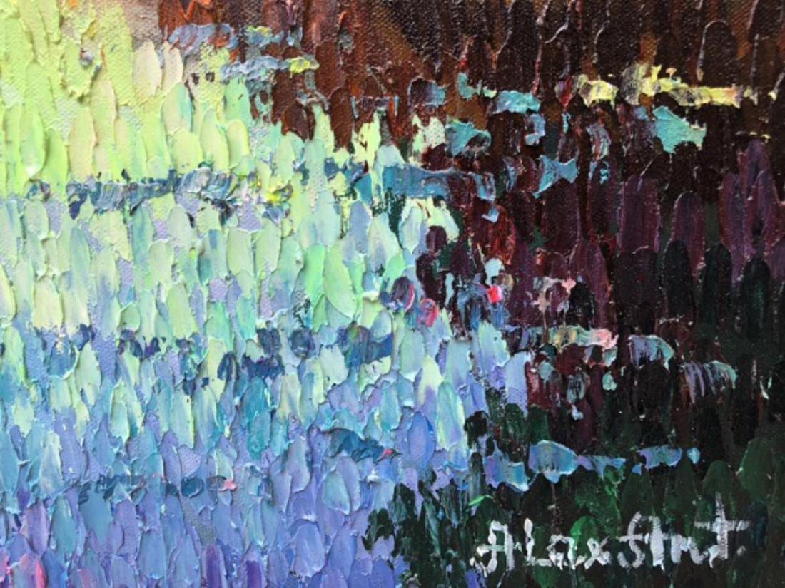 "Alexander Antanenka- ""Paris Sky"" Original Acrylic on - 4"