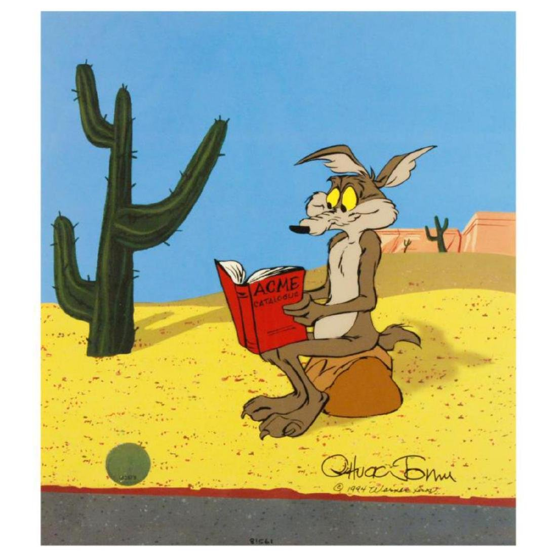 """Acme Catalogue"" Sold Out Limited Edition Animation Cel"
