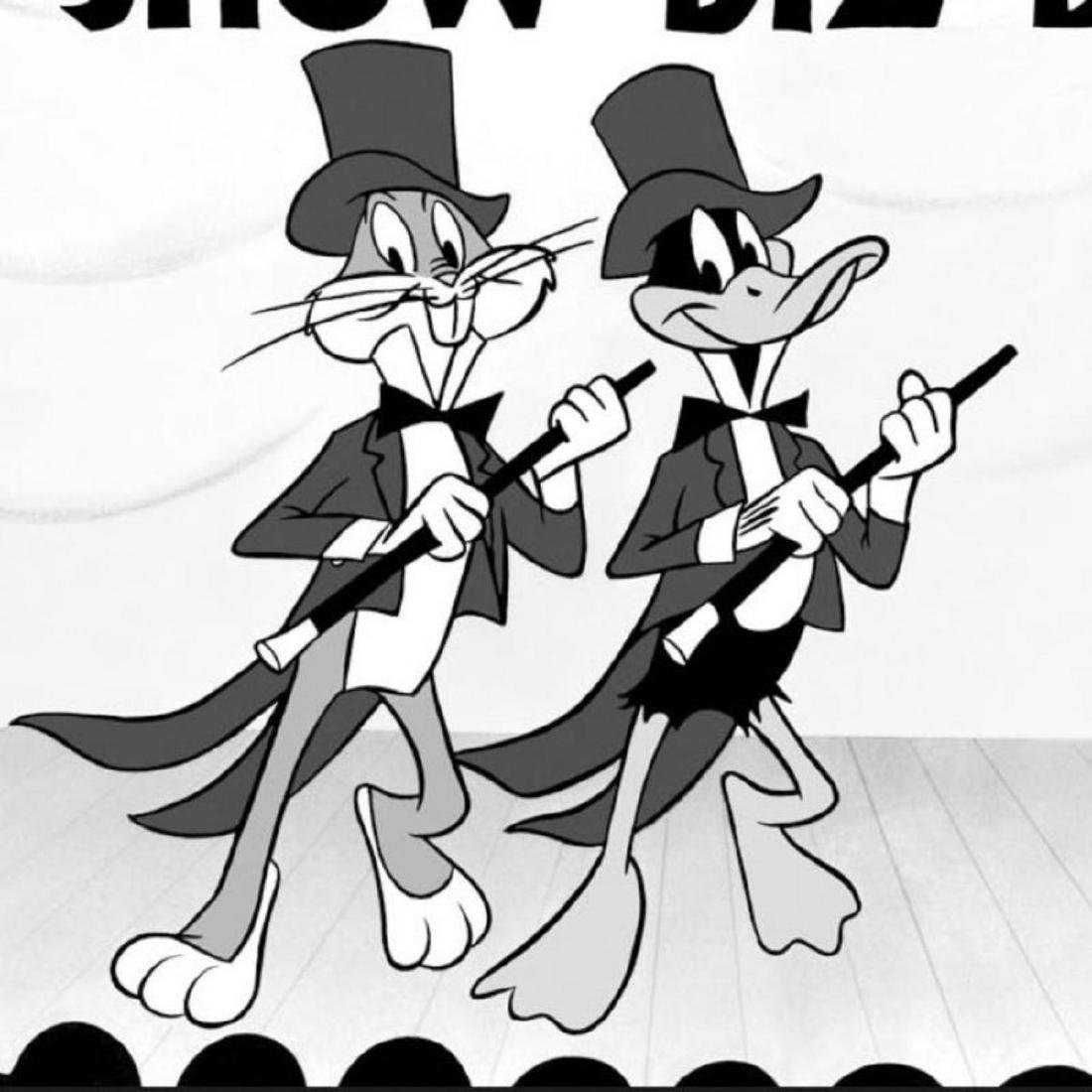 """""""Show Biz Bugs -Both Dancing"""" Numbered Limited Edition - 2"""
