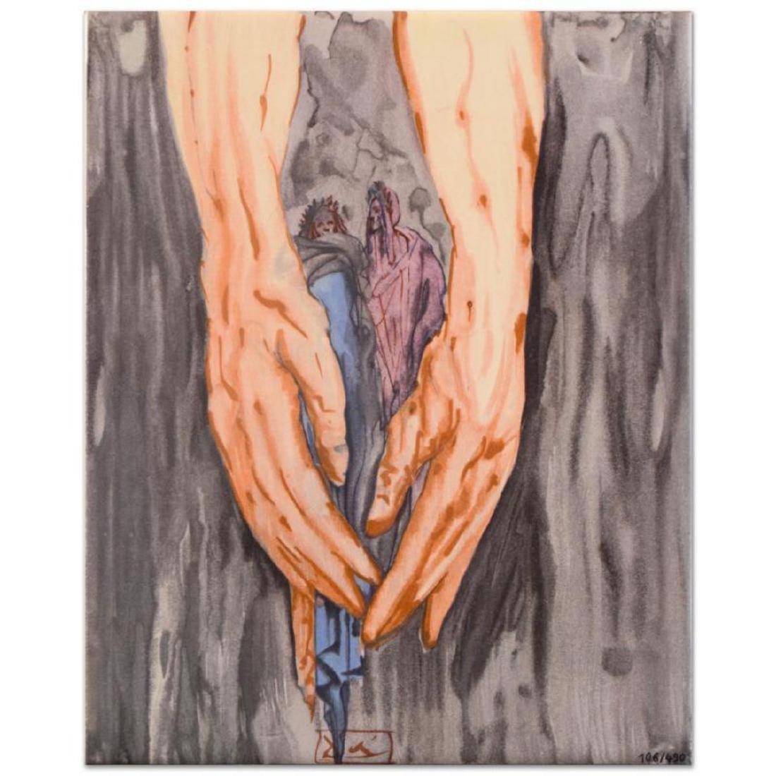 """Salvador Dali (1904-1989) - """"Mount of Geryon Inferno"""