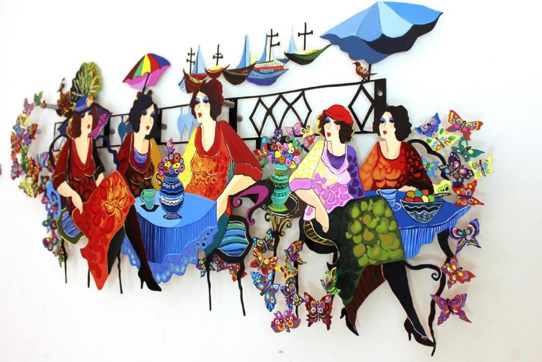 Original Patricia Govezensky Wall Sculpture Cutout - 3