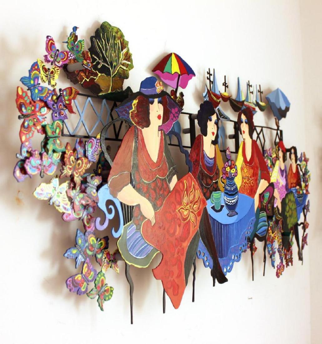 Original Patricia Govezensky Wall Sculpture Cutout - 4
