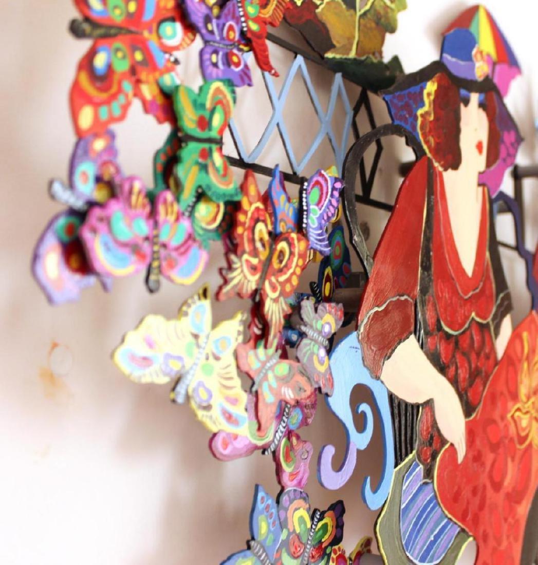 Original Patricia Govezensky Wall Sculpture Cutout - 8