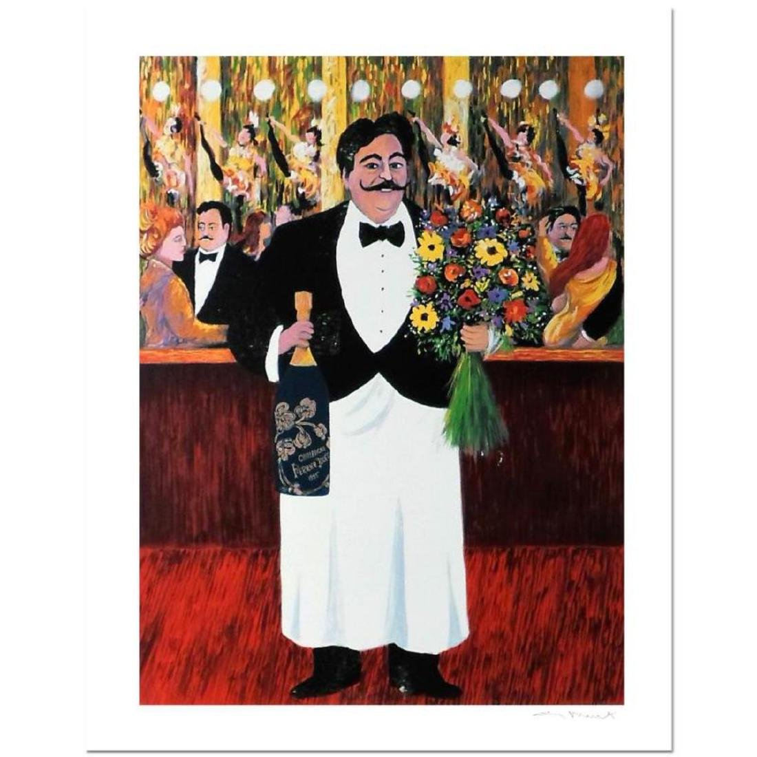"Guy Buffet - ""Monsieur Henri"" Limited Edition Serigraph;"