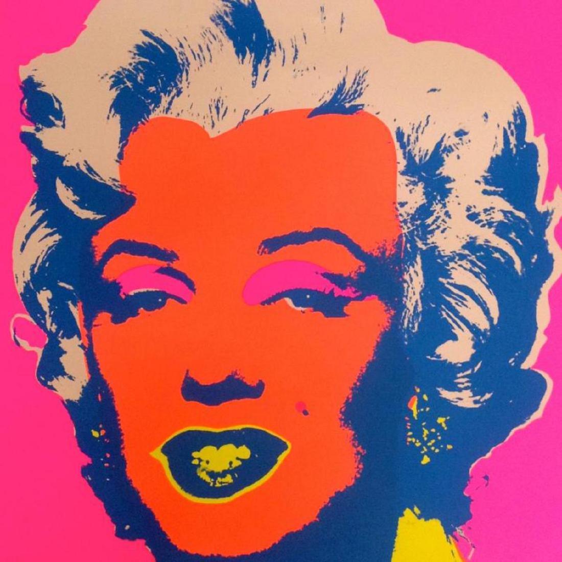 "Andy Warhol ""Marilyn 11.22"" Silk Screen Print from - 2"