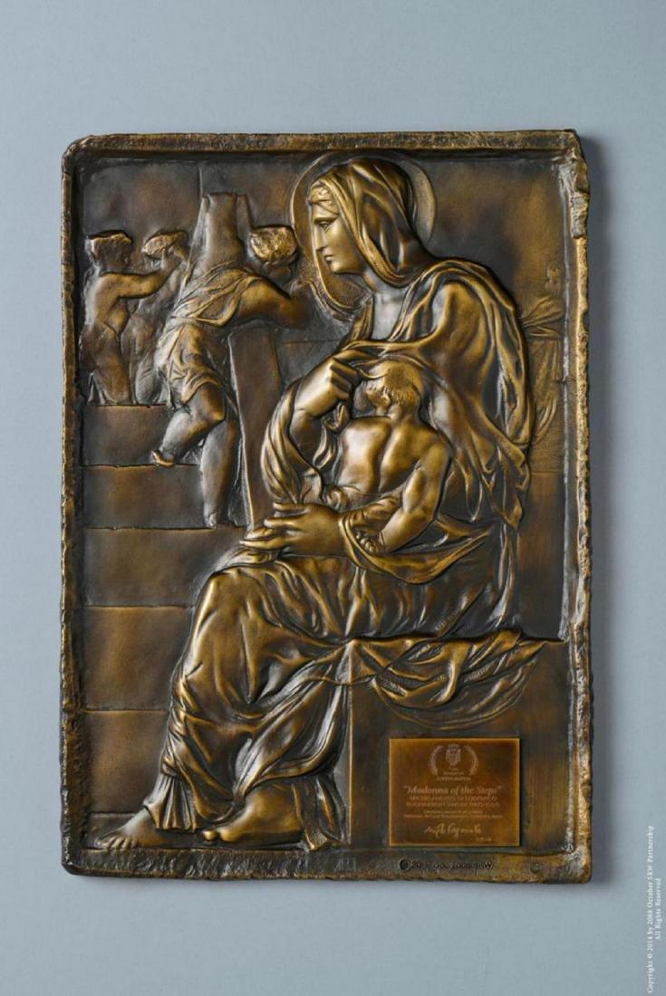 "Michelangelo Madonna of the Steps ""Madonna della"