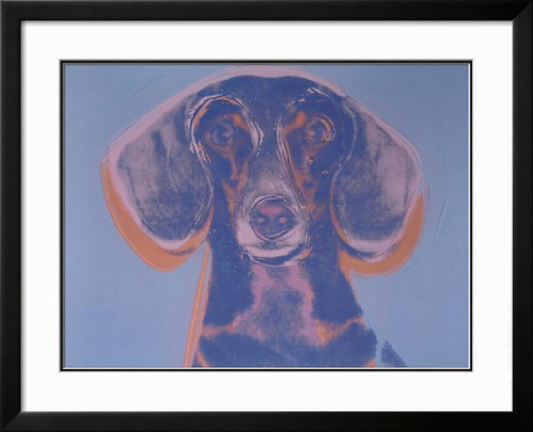 "Andy Warhol ""Portrait of Maurice, 1976"" Custom Framed"