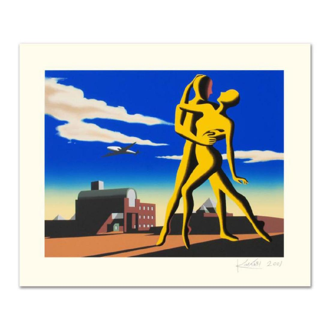 """Mark Kostabi - """"Yesterday's Here"""" Limited Edition"""