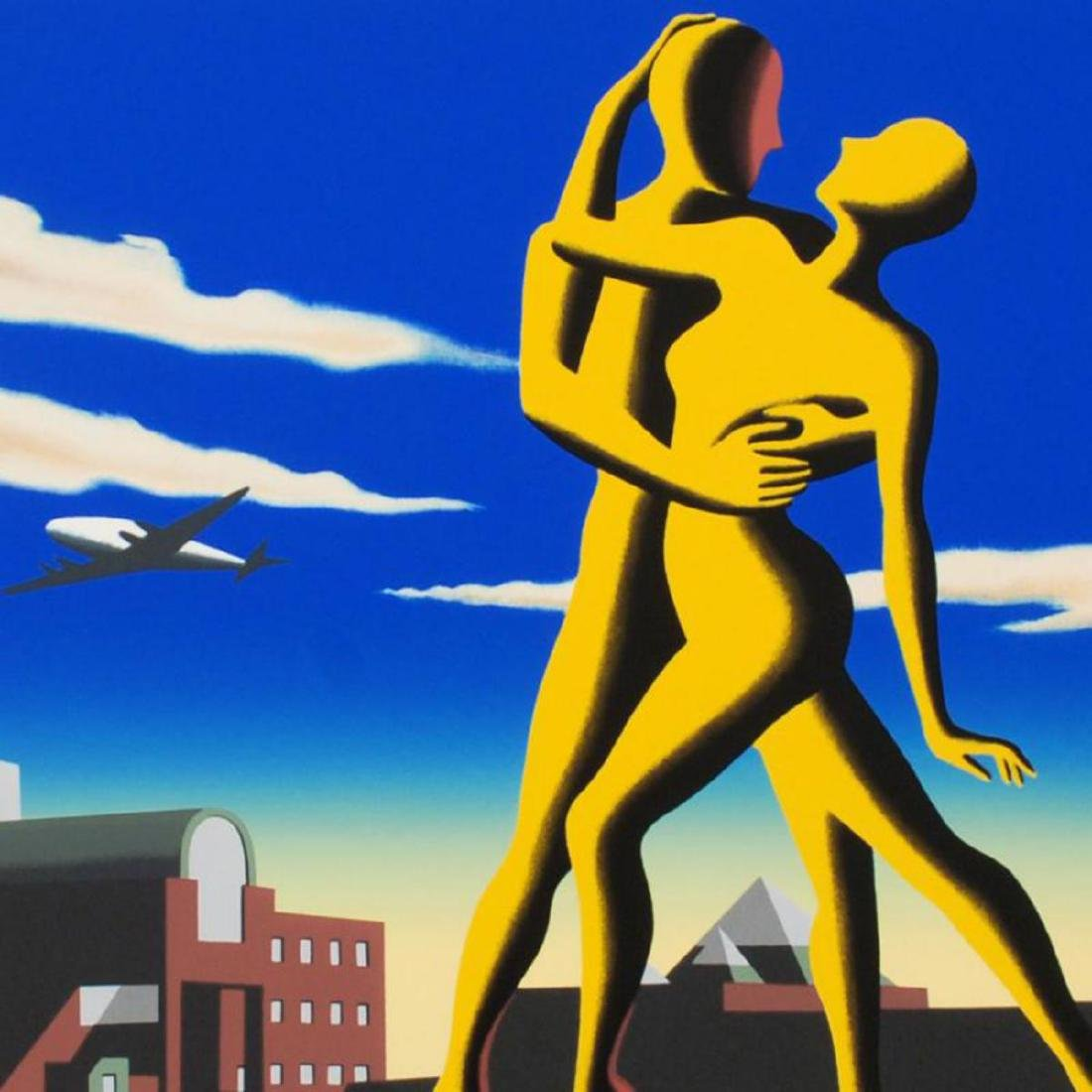 "Mark Kostabi - ""Yesterday's Here"" Limited Edition - 2"
