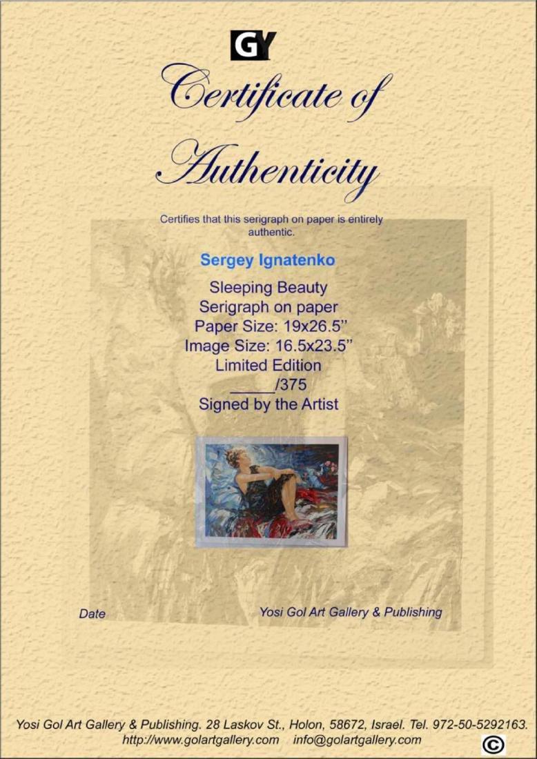 "Sergey Ignatenko ""Sleeping Beauty"" Limited Edition - 2"
