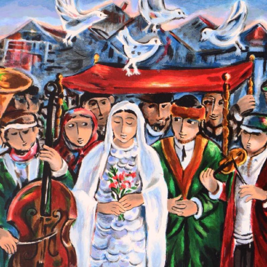 "Yosl Bergner (1920-2017) - ""Wedding"" Limited Edition - 2"