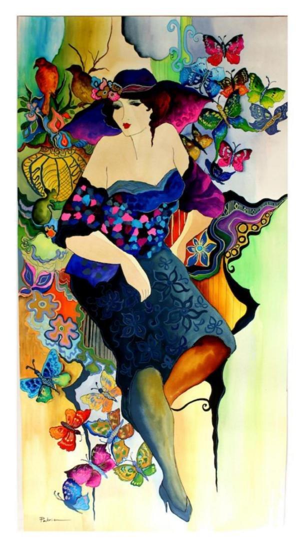 "Patricia Govezensky Original Watercolor ""Colors of"