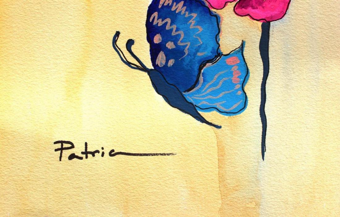 "Patricia Govezensky Original Watercolor ""Colors of - 2"