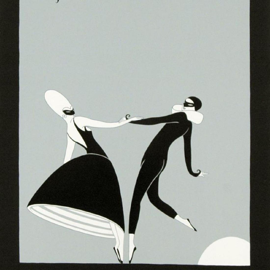"""Erte (1892-1990), """"Pas de Deux"""" Limited Edition - 2"""