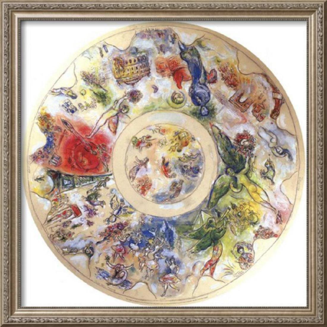 """Marc Chagall Limited Edition """"Final Study for the"""