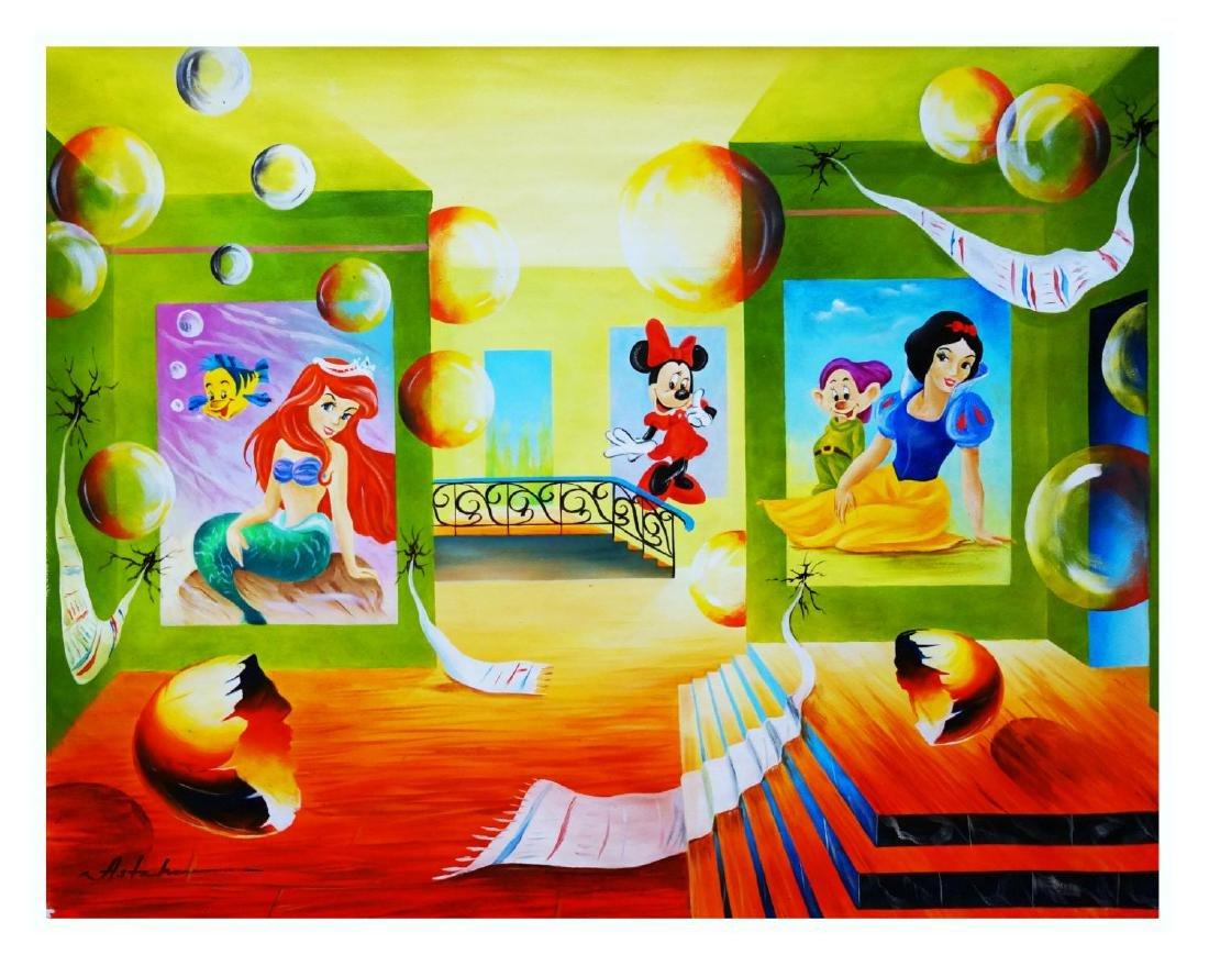 "Alexander Astahov- Original Oil on Canvas ""Story"