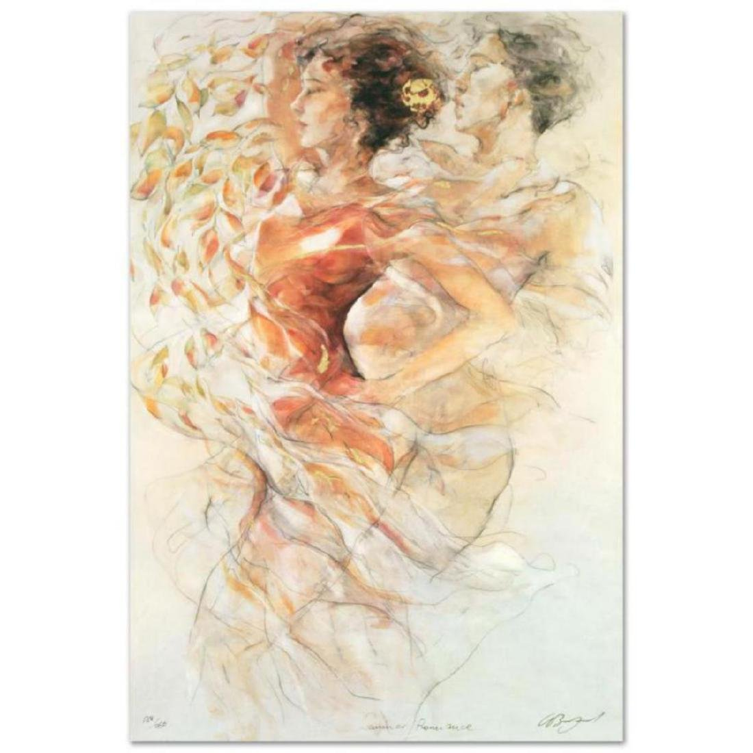 """""""Summer Romance"""" LIMITED EDITION Serigraph by Gary"""