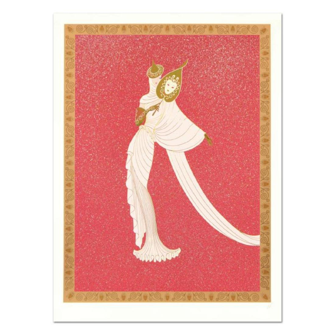 """Erte (1892-1990), """"Tanagra Red"""" Limited Edition"""