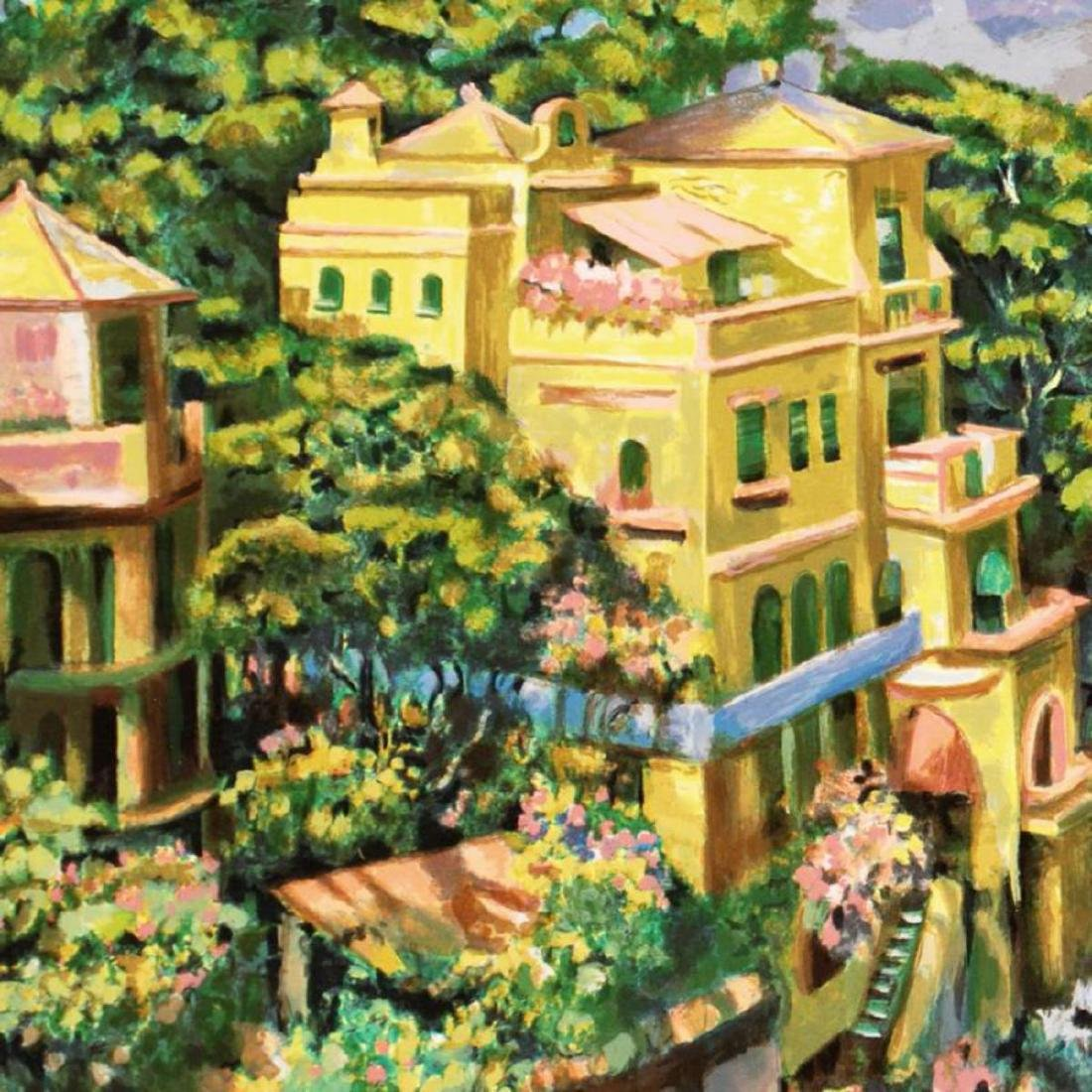 """Villa Portofino"" Limited Edition Serigraph by Howard - 2"