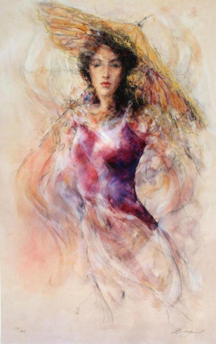 Gary Benfield- Aine Limited Edition Giclee on Canvas