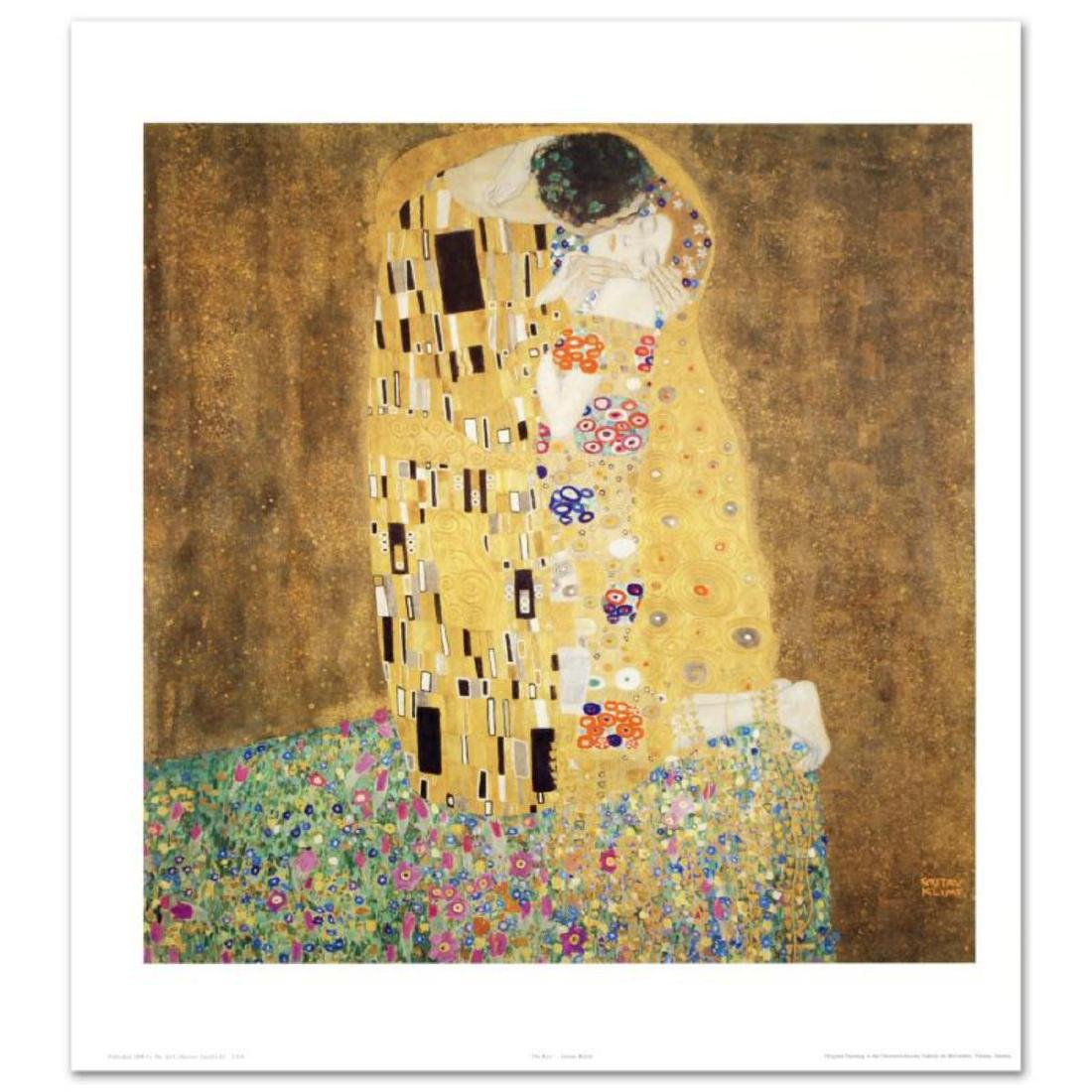 """The Kiss"" Fine Art Print by Gustav Klimt (1862-1918),"