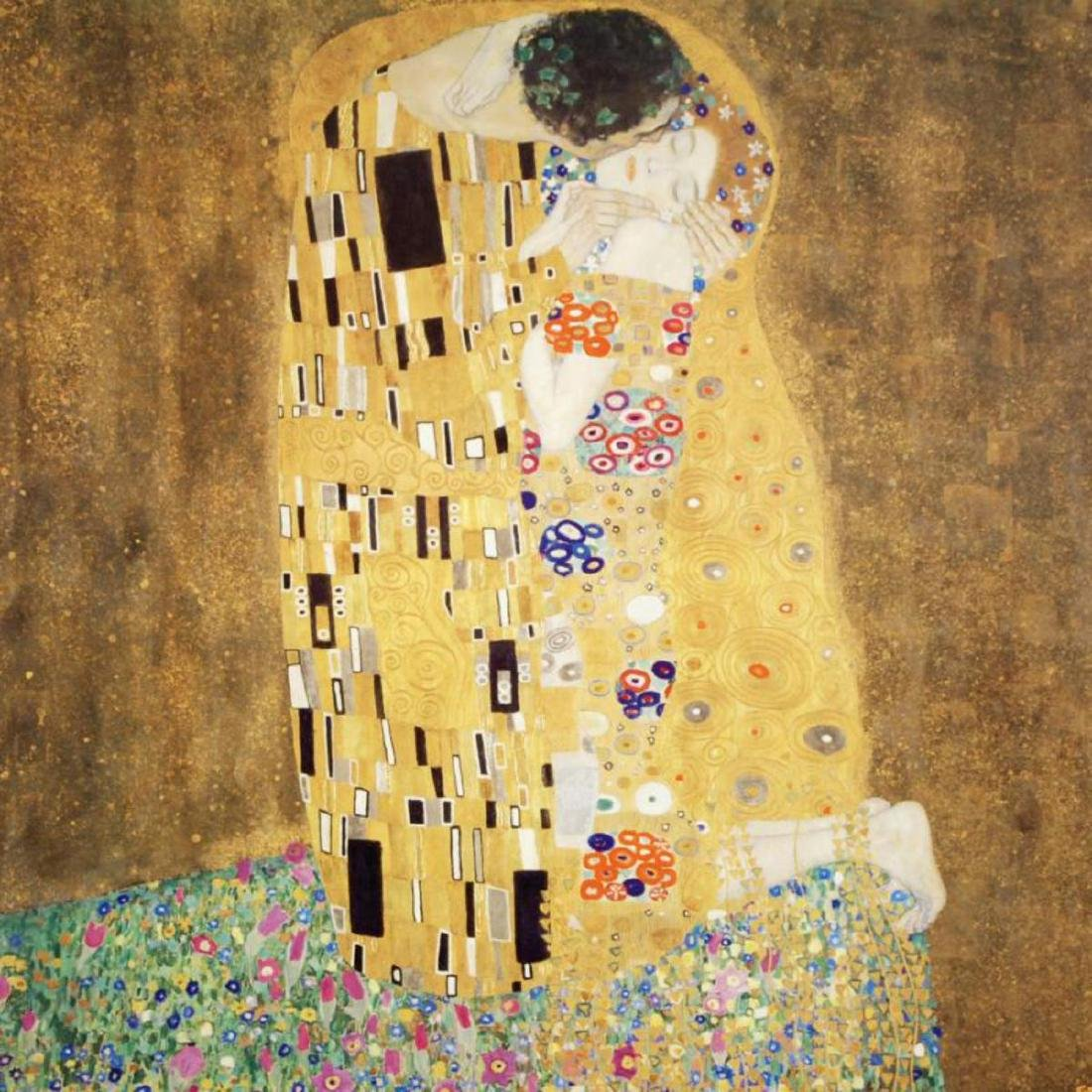 """The Kiss"" Fine Art Print by Gustav Klimt (1862-1918), - 2"
