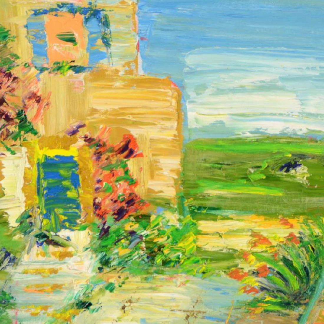 "Elliot Fallas - ""Summer Moments"" Original Oil Painting - 2"