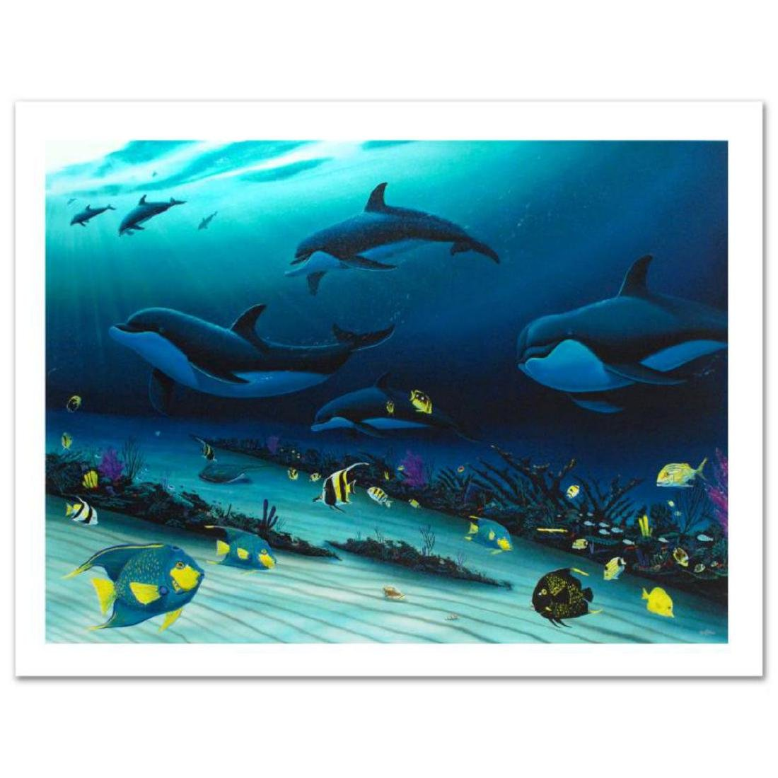 """""""Radiant Reef"""" Limited Edition Giclee Diptych on Canvas - 3"""