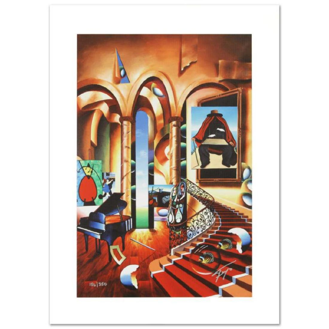 """""""Conclave of the Masters"""" Limited Edition Giclee on"""