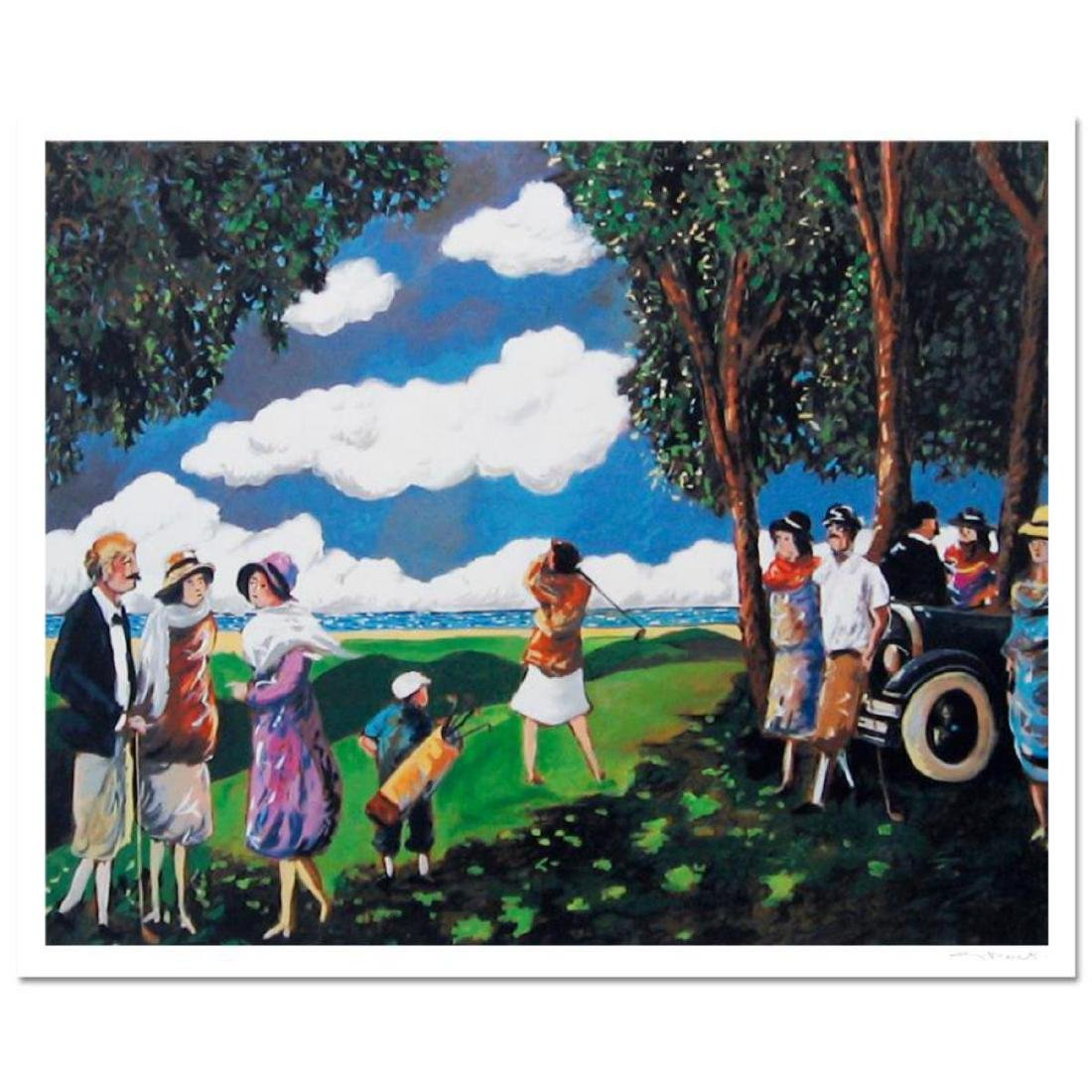 """Guy Buffet - """"Ladies At Tee"""" Limited Edition Serigraph;"""