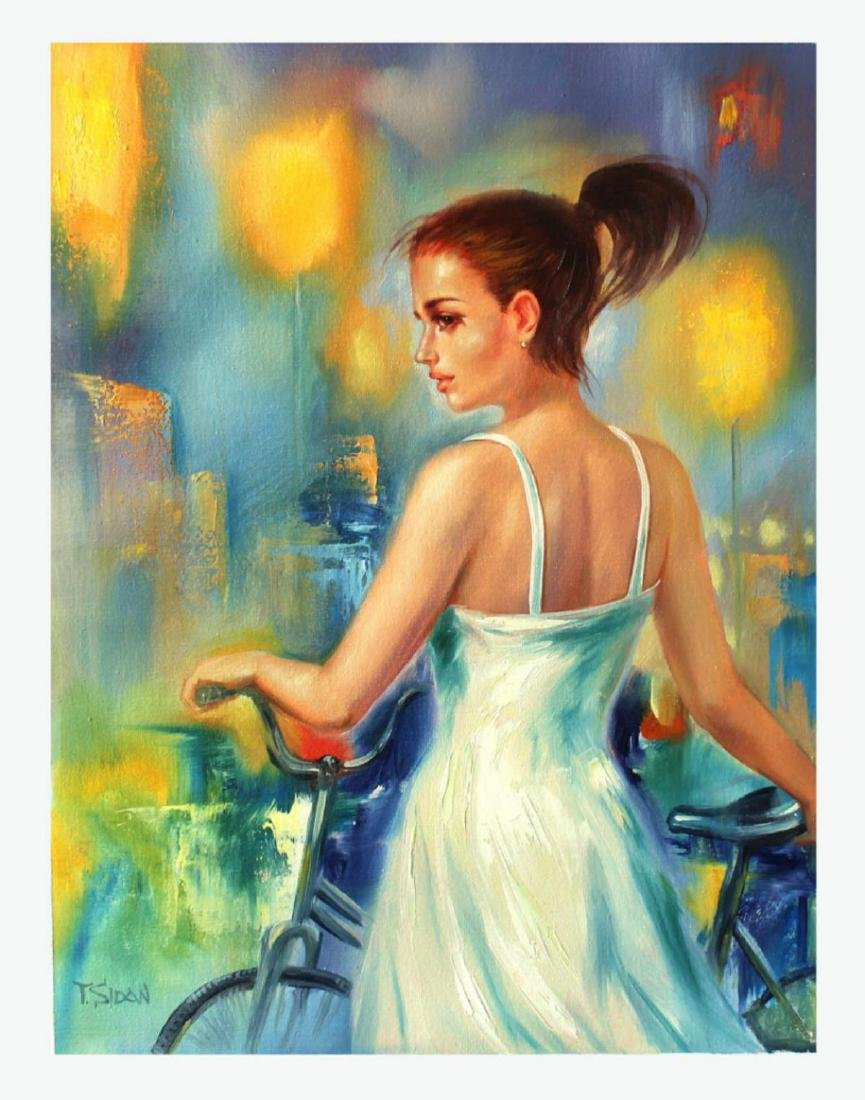 Taras Sidan Original Oil On Canvas- EMOTIONS