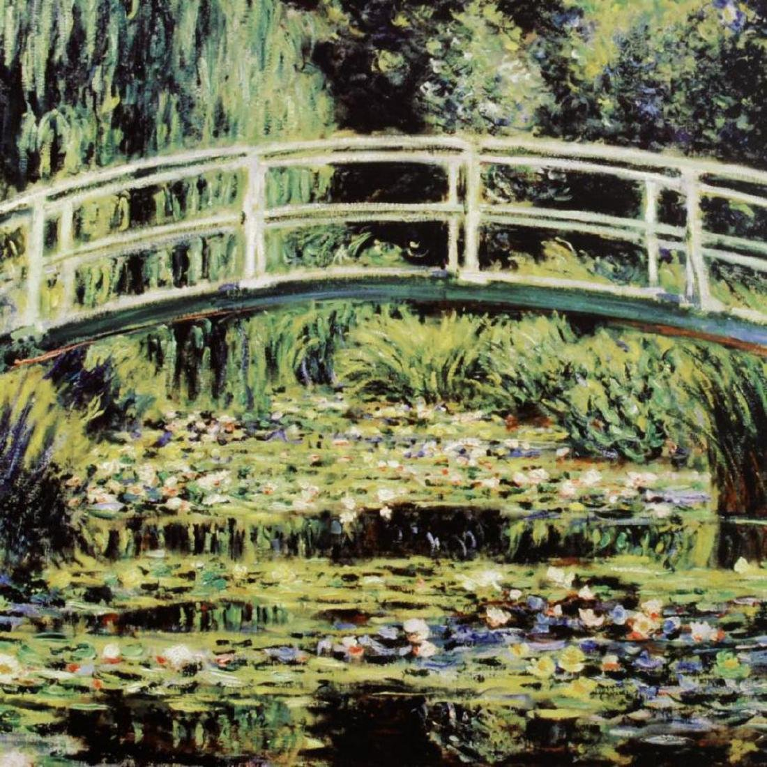 """White Waterlilies"" Fine Art Print by Monet - 2"