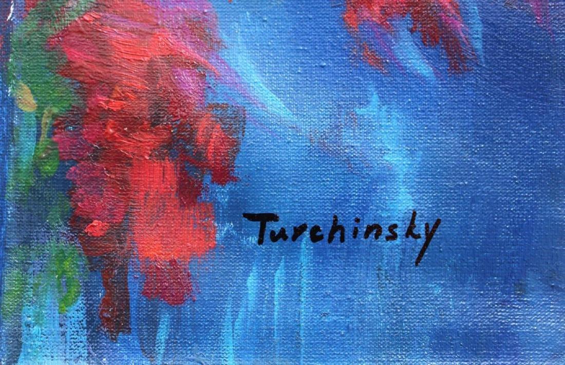 Turchinskiy Dmitriy Original Oil on Canvas- Unstoppable - 2