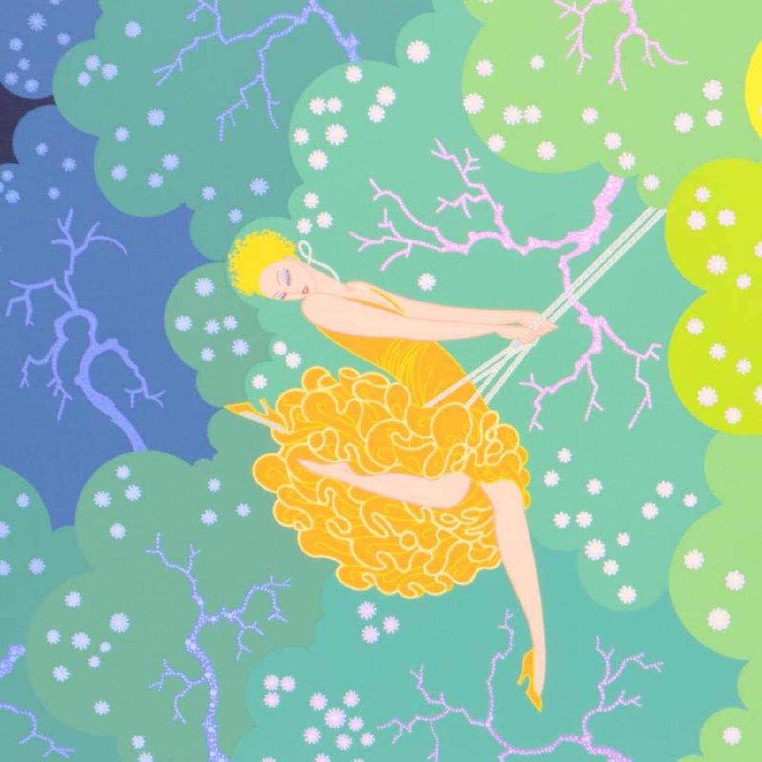 "Erte (1892-1990), ""The Swing"" Limited Edition - 2"
