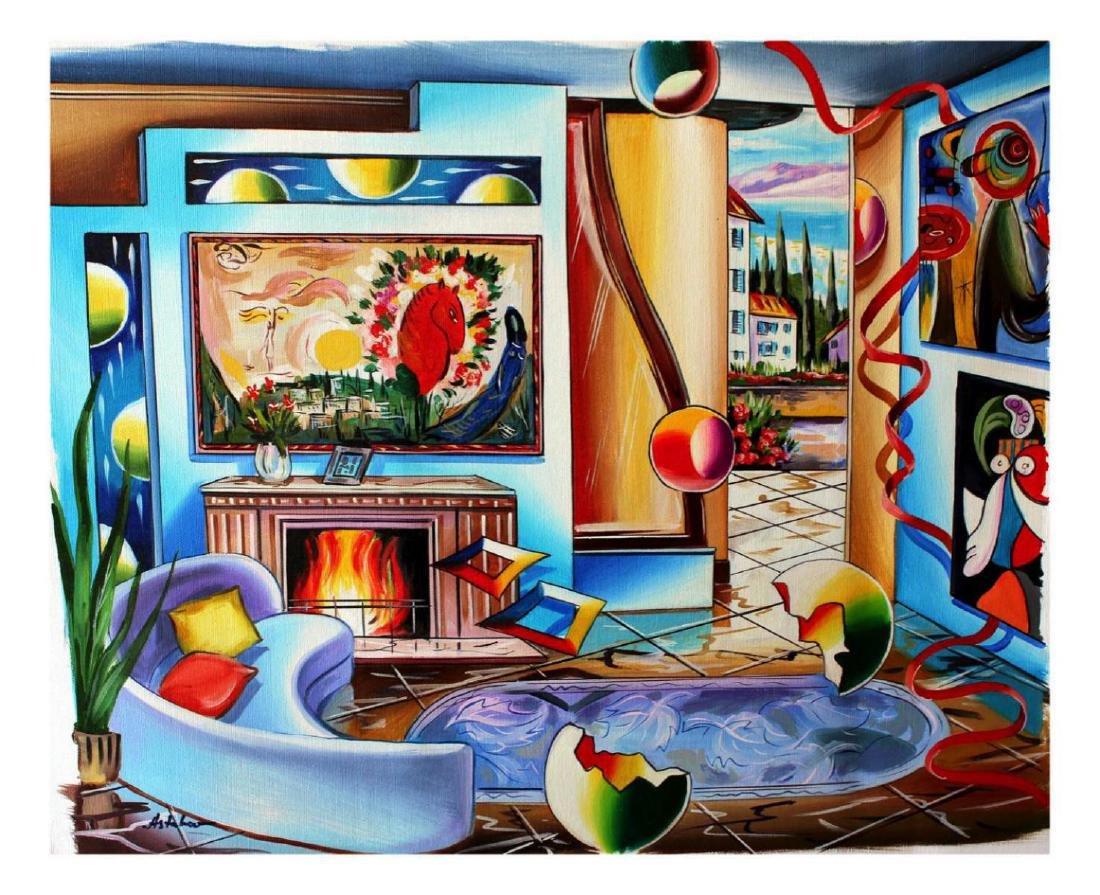 Alexander Astahov Original Oil on Canvas New Beginning