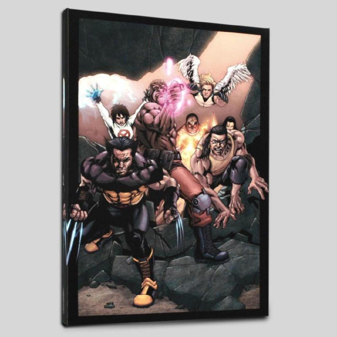"""Ultimate X-Men #89"" Limited Edition Giclee on Canvas - 3"