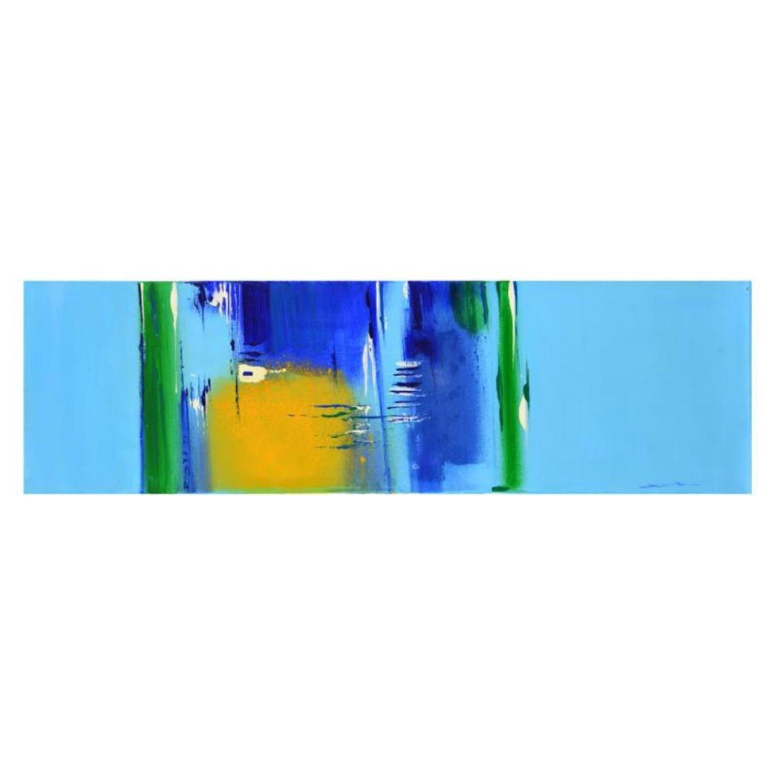 "Roberto Donatelli - ""Yellow"" Original Oil Painting on"
