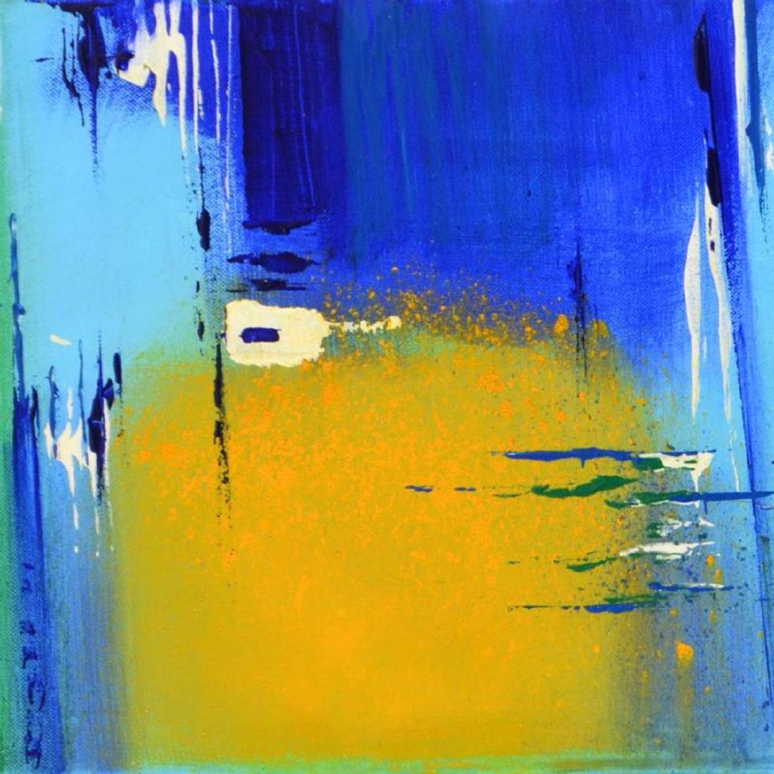 "Roberto Donatelli - ""Yellow"" Original Oil Painting on - 2"