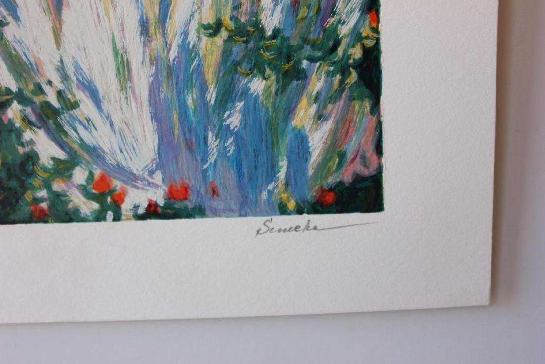 "Igor Semeko Limited Edition Serigraph ""Tea Time"" - 2"
