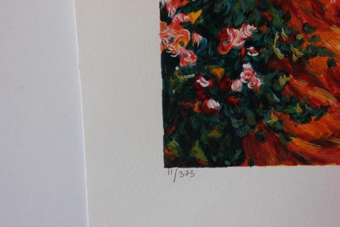 "Igor Semeko Limited Edition Serigraph ""Tea Time"" - 3"