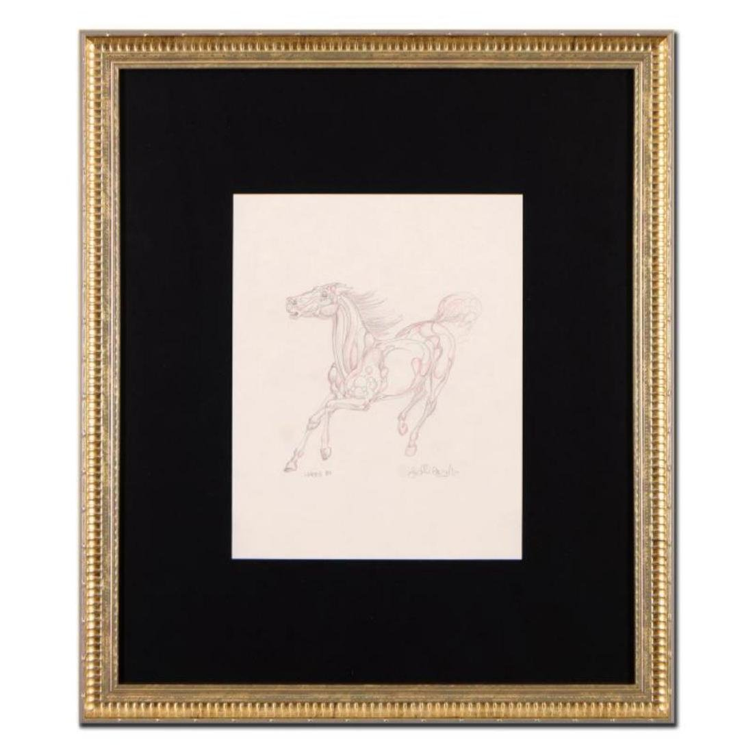 """Guillaume Azoulay - """"BS Sketch"""" Framed Original"""