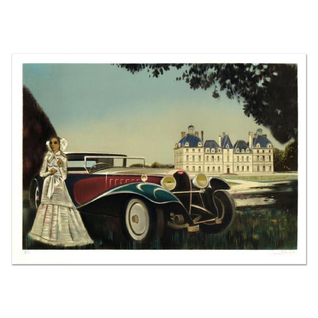 """Robert Vernet Bonfort - """"The Car"""" Limited Edition"""