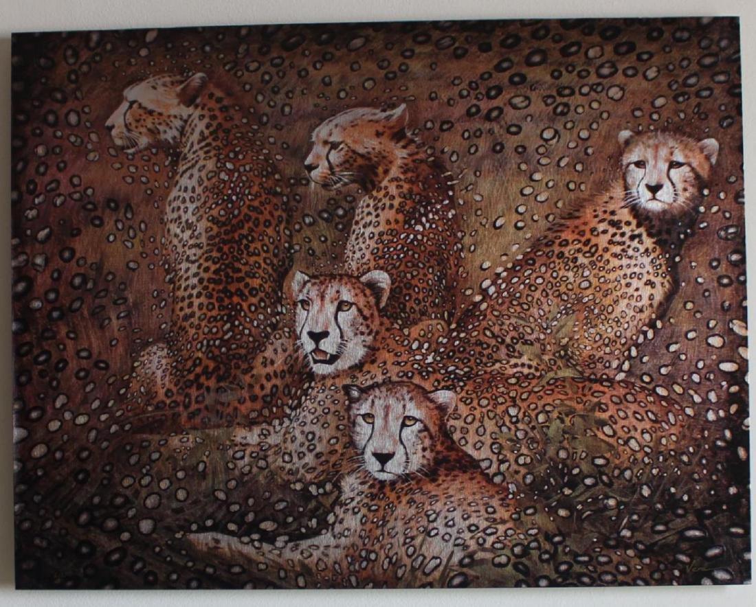 Vera V. Goncharenko Leopards Limited Edition on