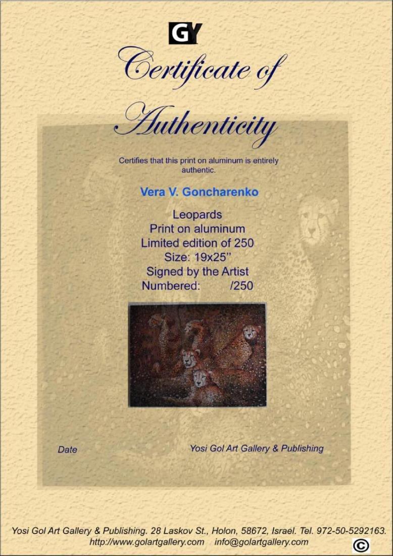 Vera V. Goncharenko Leopards Limited Edition on - 3