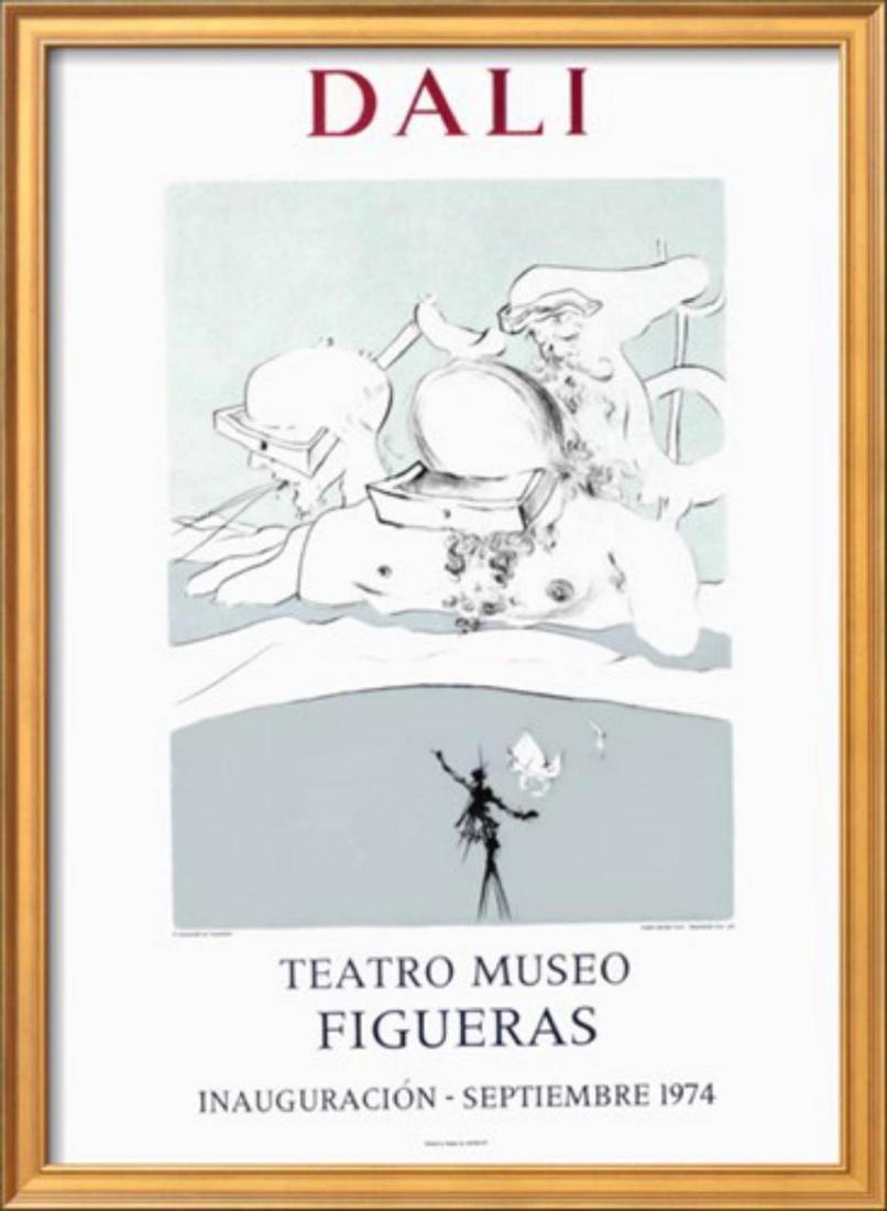 """Salvador Dalí """"Teatro Museo Figueras 10"""" Original"""