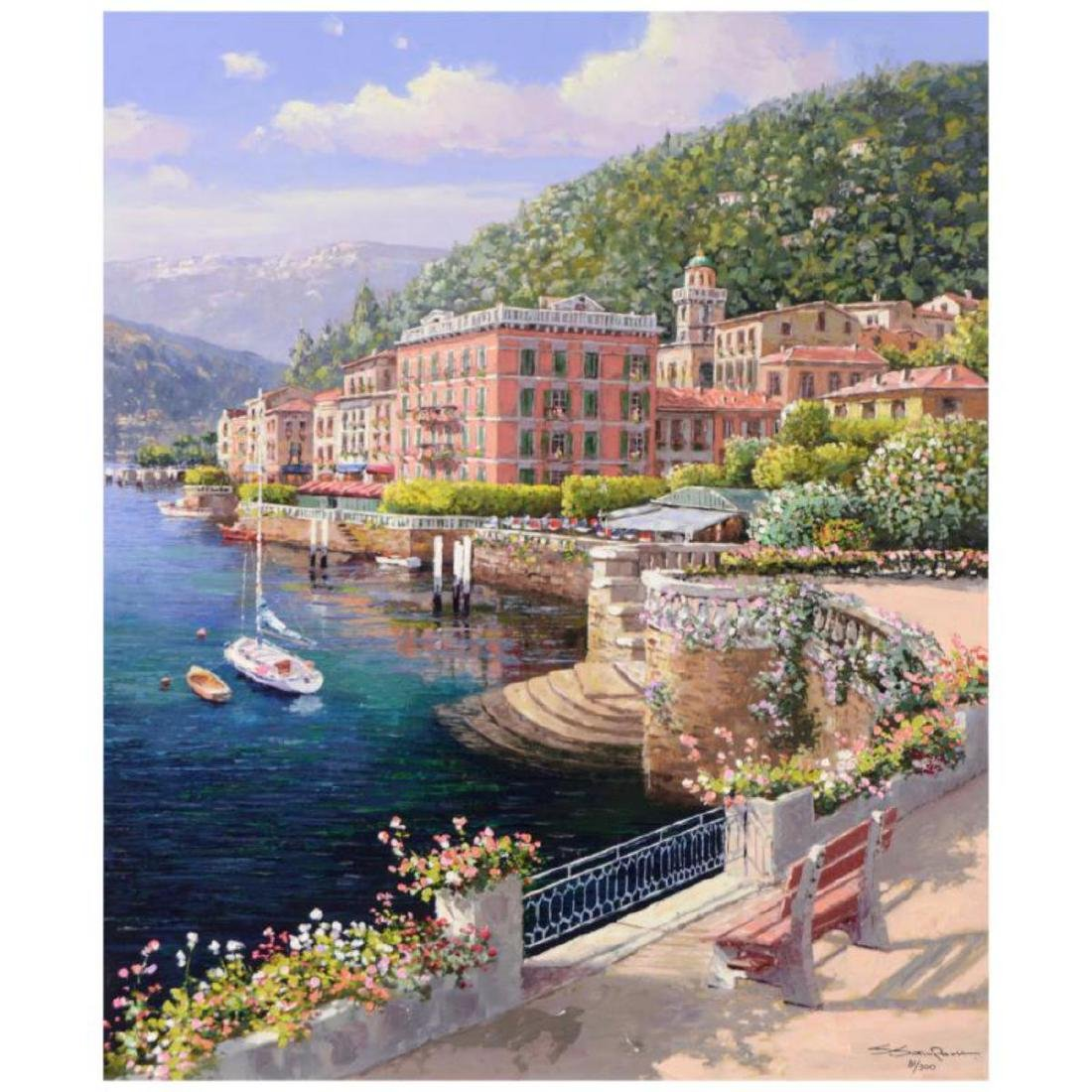 "S. Sam Park - ""Lakeside Bellagio"" SOLD OUT Hand"