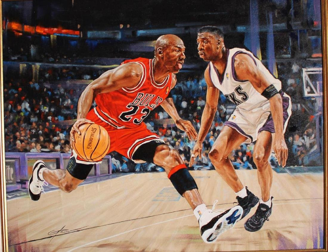 Yevgeniy Korol- Michael Jordan the Greatest Original - 2