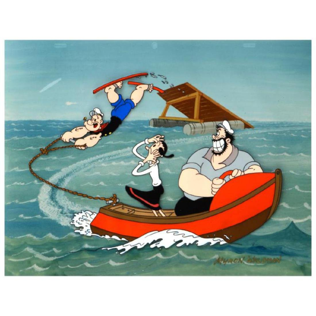 "Myron Waldman (1908-2006)! ""Popeye Jumps for Olive"""