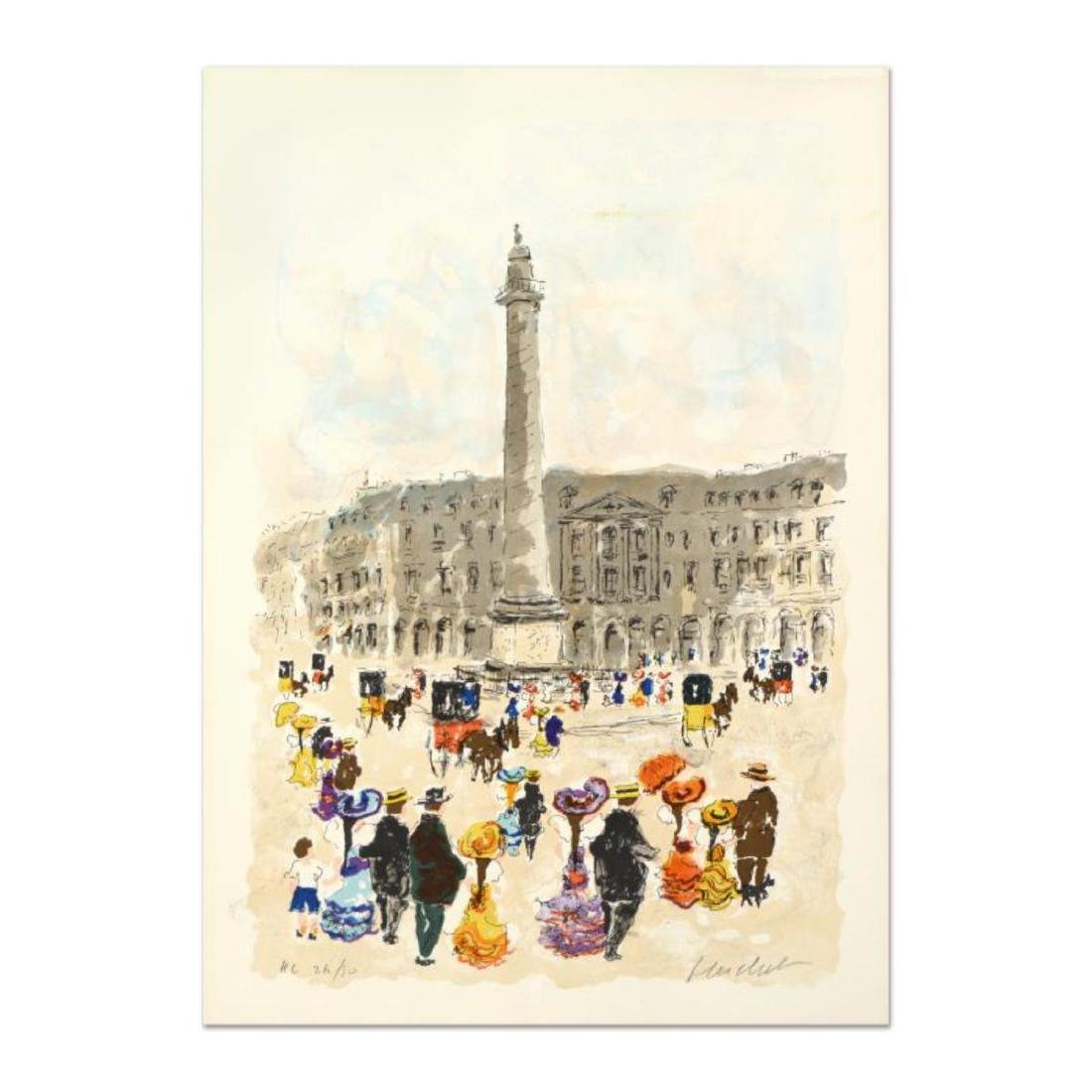 "Urbain Huchet - ""Place Vendome"" Limited Edition"