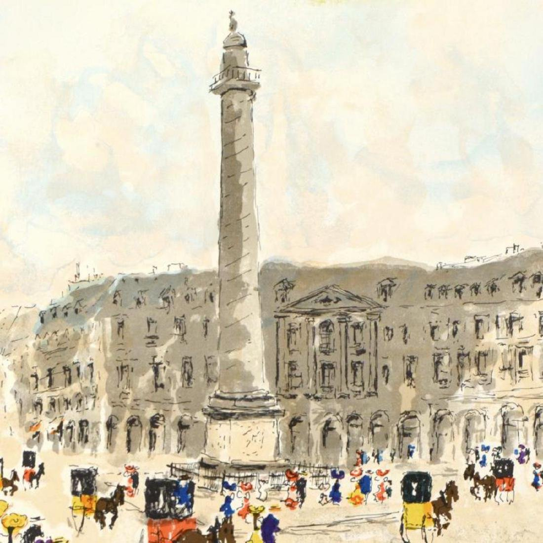 "Urbain Huchet - ""Place Vendome"" Limited Edition - 2"